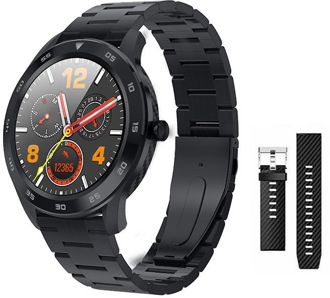 Wotchi Dárkový set Smartwatch WG98BK + náhradní řemínek