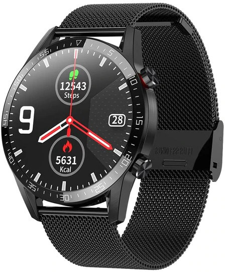 Wotchi Smartwatch WT31BST - Black Steel
