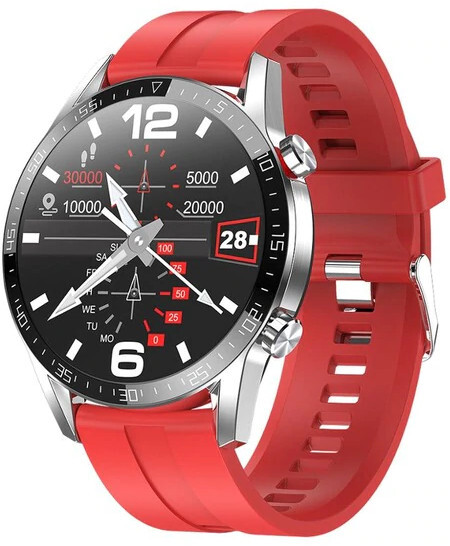 Wotchi Smartwatch WT32RS - Red Silicone