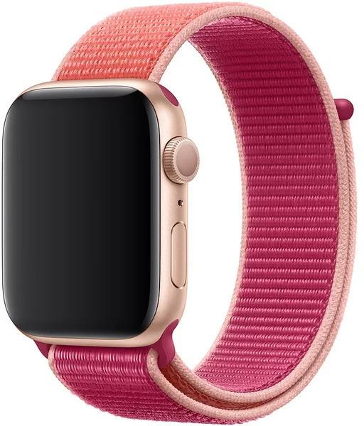 Wotchi Provlékací sportovní řemínek pro Apple Watch - Růžová 42/44 mm