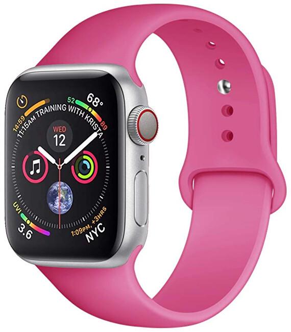 4wrist Silikonový řemínek pro Apple Watch - Dračí ovoce 38/40 mm - S/M