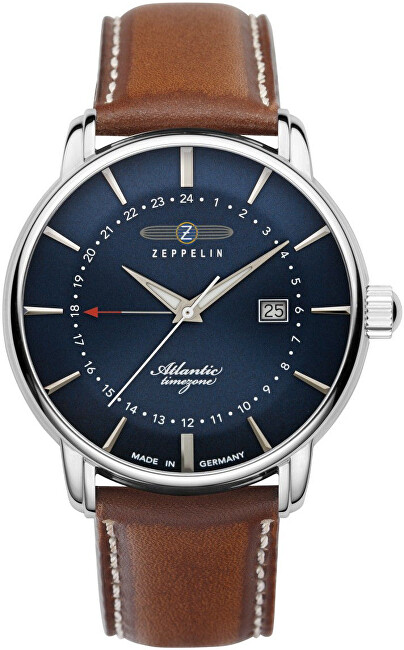 Zeppelin Atlantic Quartz GMT 8442-3