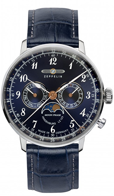Zeppelin LZ 129 Hindenburg Chronograph Moonphase 7036-3