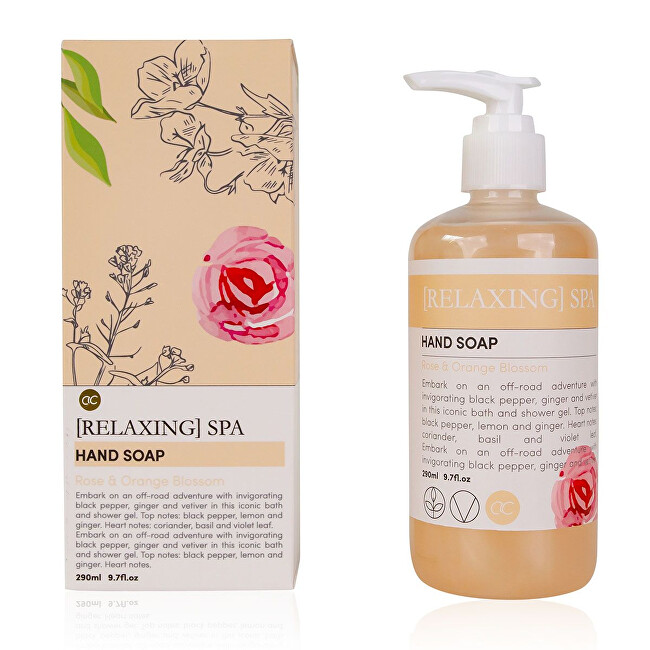 Accentra Tekuté mydlo na ruky Relaxing Spa Rose & Orange Blossom (Hand Soap) 300 ml