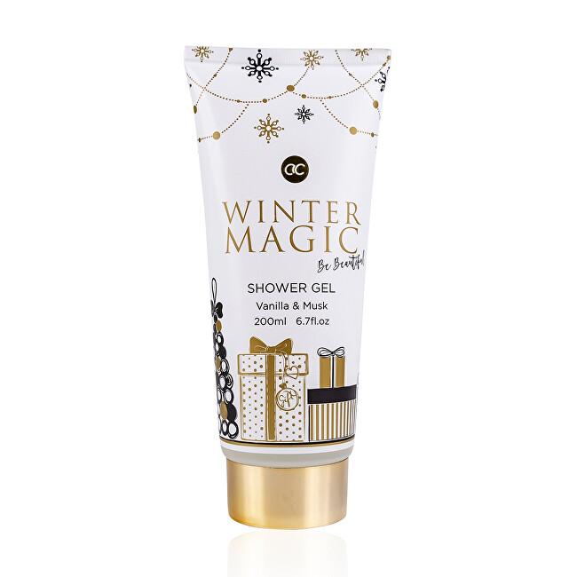 Accentra Vyživujúce sprchový gél Winter Magic Vanilla & Musk (Shower Gel) 200 ml