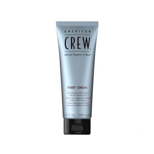 American Crew Krém na vlasy s přírodním leskem a střední fixací (Fiber Cream) 100 ml