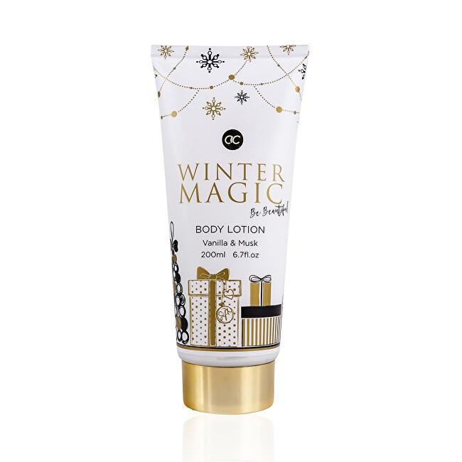 Accentra Tělo vé mlieko Winter Magic Vanilla & Musk ( Body Lotion) 200 ml