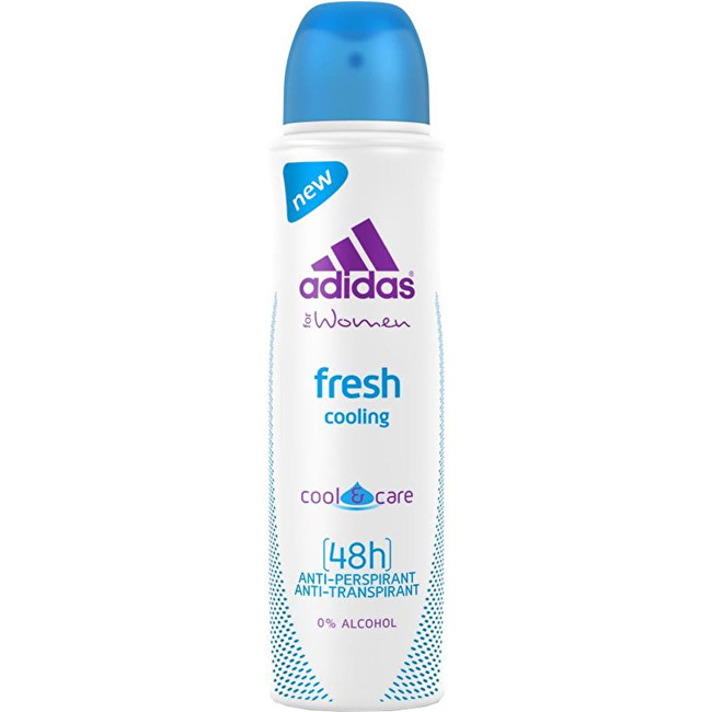 Adidas Antiperspirant v spreji pre ženy Fresh Cooling Cool & Care 48h 150 ml