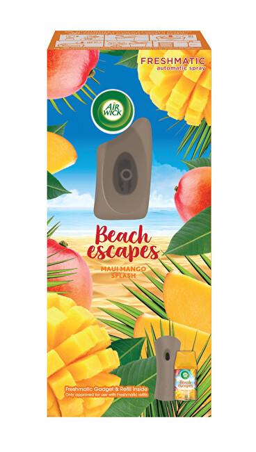 Air Wick Automatický osvěžovač vzduchu s náplní Mangové šplíchnutí (Maui Mango Splash) 250 ml