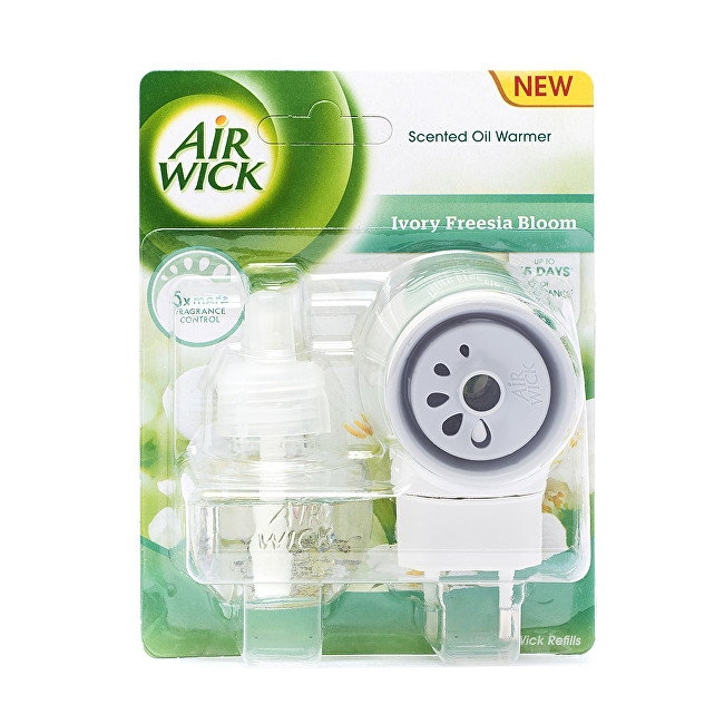 Air Wick Elektrický osvěžovač vzduchu Bílé květy frézie 19 ml