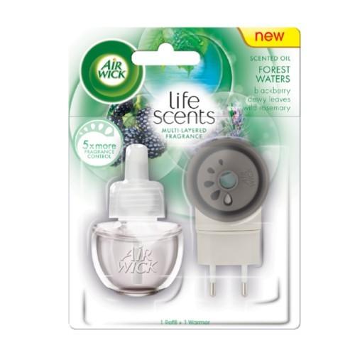 Air Wick Elektrický osvěžovač vzduchu Life Scents Lesní potok 19 ml