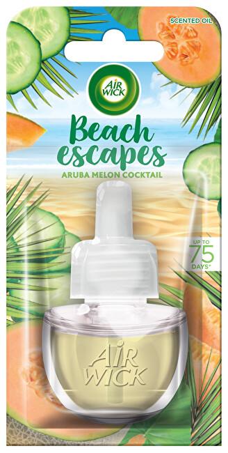 Air Wick Elektrický osvěžovač vzduchu Melounový koktejl (Beach Escapes Aruba) 19 ml - náplň
