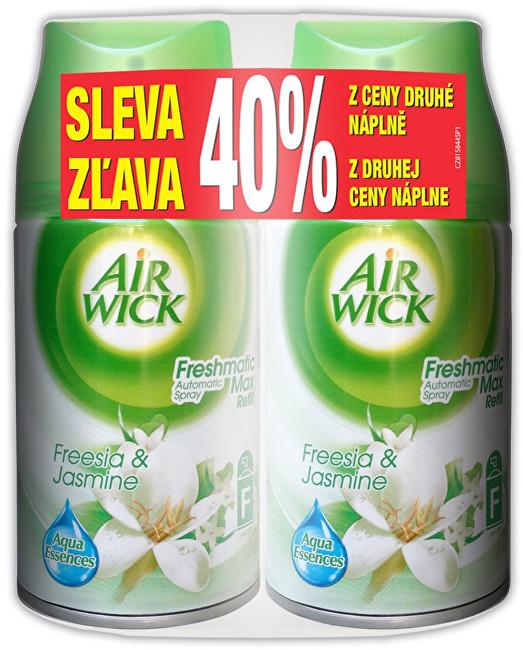 Air Wick Osvěžovač vzduchu DUO Bílé květy frézie 2 x 250 ml - náplň