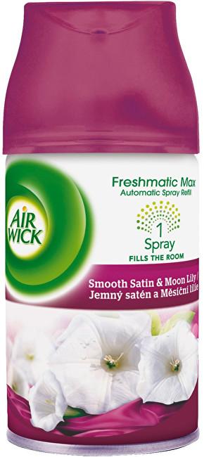 Air Wick Osvěžovač vzduchu Jemný satén a měsíční lilie 250 ml - náplň