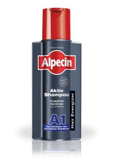 Alpecin Aktivační šampon pro normální až suchou pokožku hlavy A1 (Aktiv Shampoo) 200 ml