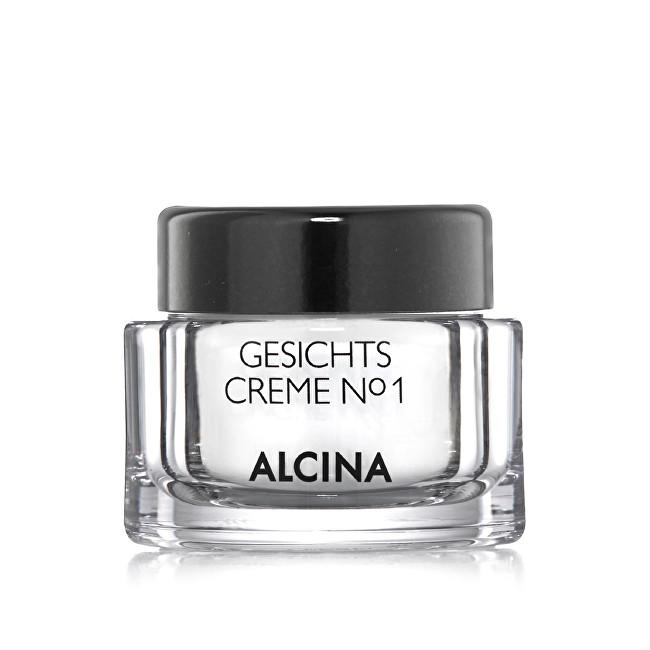 Alcina Intenzivně hydratační pleťový krém No.1 (Facial Cream) 50 ml
