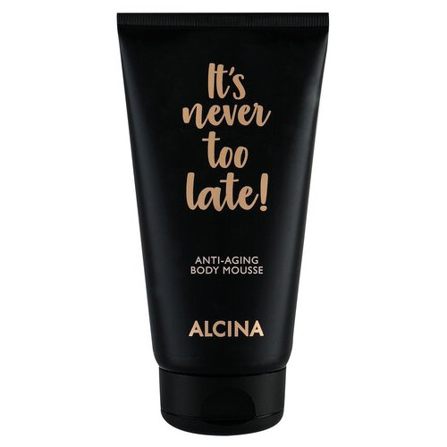 Alcina Tělo vá pena proti starnutiu pokožky It`s never too late! (Anti-Aging Body Mousse) 150 ml