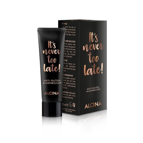 Alcina Intenzivní oční balzám proti vráskám It´s never too late! (Anti-Wrinkle Eye Balm) 15 ml