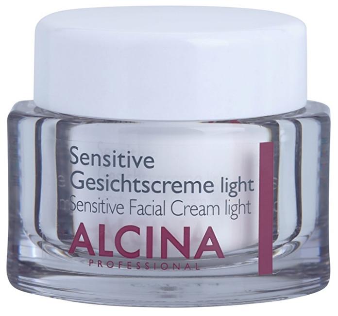 Alcina Jemný pleťový krém pro zklidnění a posílení citlivé pleti (Sensitive Facial Cream Light) 50 ml