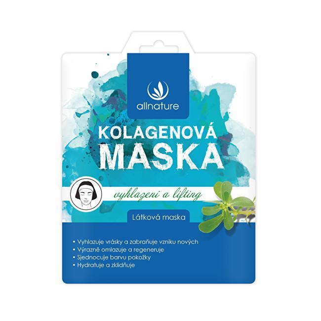 Allnature Látková pleťová maska kolagenová 23 ml