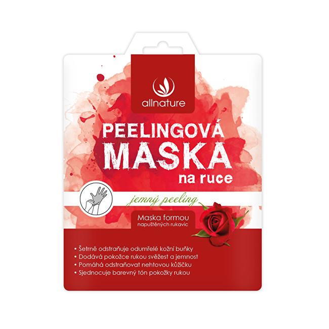 Allnature Maska jemná peelingová na ruce 36 ml