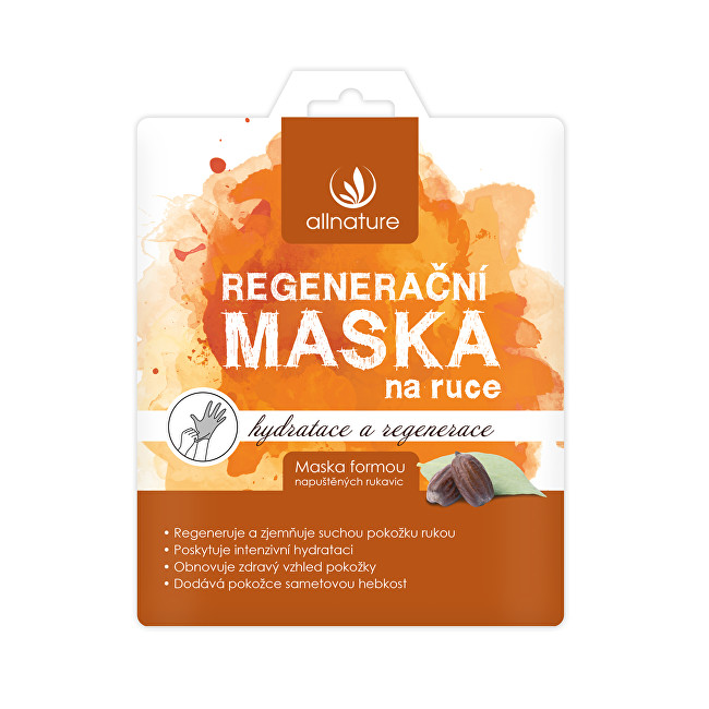 Allnature Maska regenerační na ruce 26 g