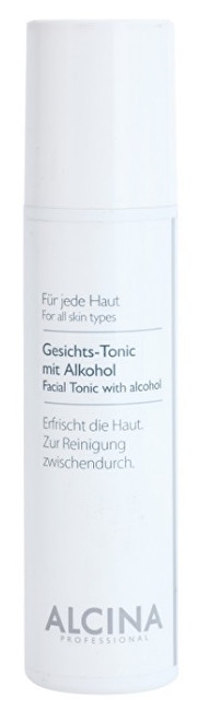 Alcina Pleťové tonikum s alkoholem (Facial Tonic With Alcohol) 200 ml