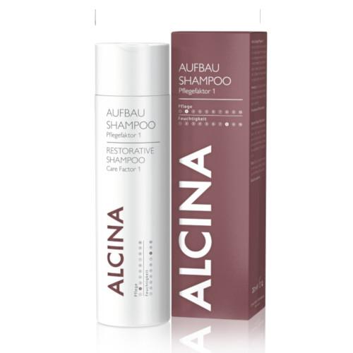 Alcina Regenerační šampon pro suché a poškozené vlasy (Restorative Shampoo Care Factor 1) 250 ml