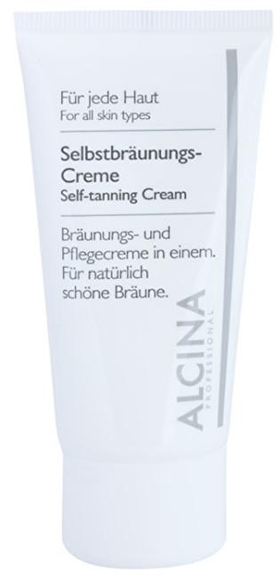Alcina Samoopalovací krém na obličej (Self-Tanning Cream) 50 ml