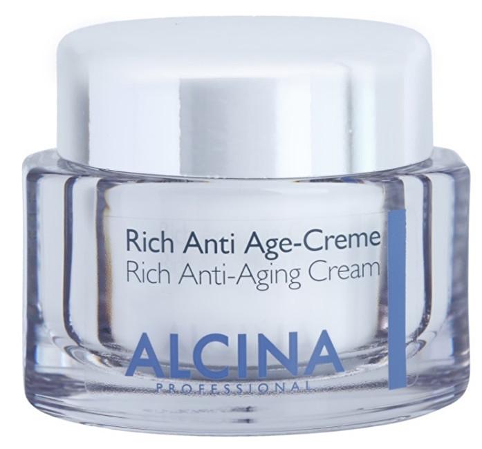 Alcina Výživný krém proti stárnutí pleti (Rich Anti-Aging Cream) 50 ml