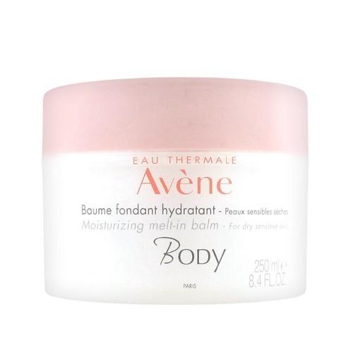 Avène Hydratační tělový balzám pro suchou a citlivou pokožku Body (Moisturizing Melt-In Balm) 250 ml