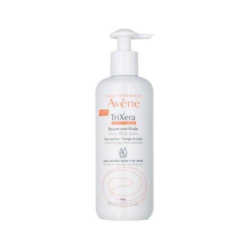 Avène Vyživujúci pleťový a telový balzám s obsahom termálnej vody na veľmi suchú a citlivú pokožku Trixera (Nutri-Fluid Balm) 400 ml
