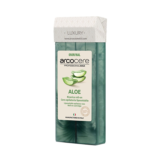 Arcocere Epilačný vosk Professional Wax Aloe (Roll-On Cartidge) 100 ml
