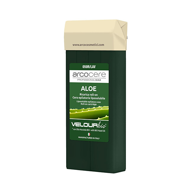 Arcocere Epilačný vosk Professional Wax Aloe Vera Bio (Roll-On Cartidge) 100 ml