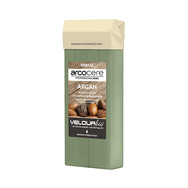 Arcocere Epilačný vosk Professional Wax Argan Bio (Roll-On Cartidge) 100 ml