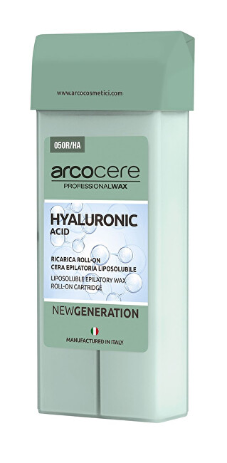 Arcocere Epilačný vosk Professional Wax Hyaluronic Acid (Roll-On Cartidge) 100 ml