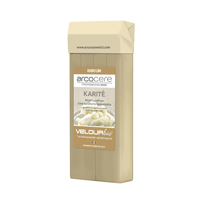 Arcocere Epilačný vosk Professional Wax Karité Bio (Roll-On Cartidge) 100 ml