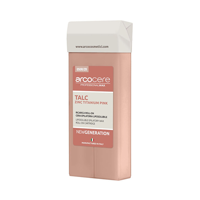 Arcocere Epilačný vosk Professional Wax Pink Titanium (Roll-On Cartidge) 100 ml