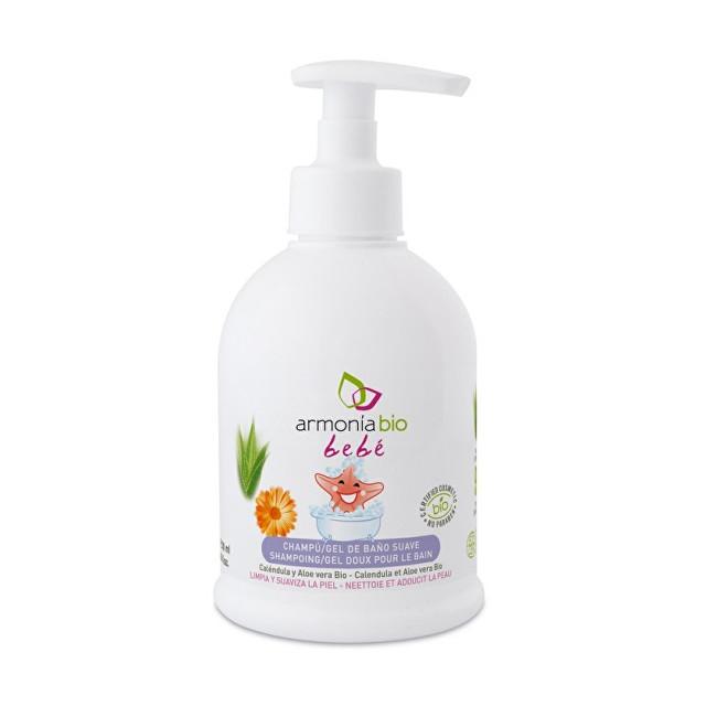 Armonia BIO Jemný dětský šampón-gel do koupele Bebé 300 ml