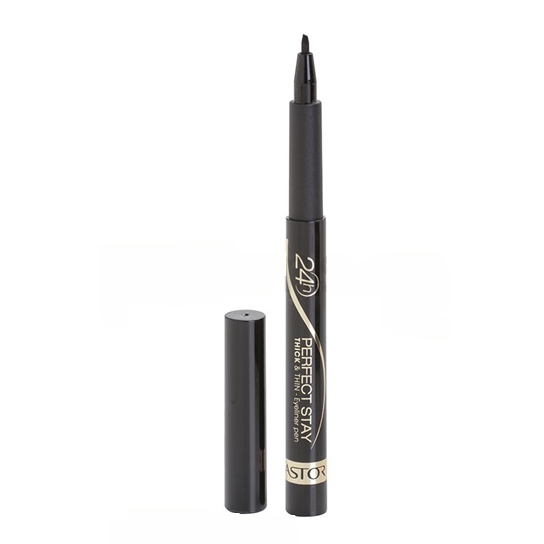 Astor 24H Perfect Stay Thick & Thin oční linky 90 Black 3 ml