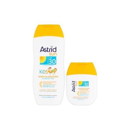 Astrid Dětské mléko na opalování OF 30200 ml+ Hydratační mléko na opalování OF 1080 ml