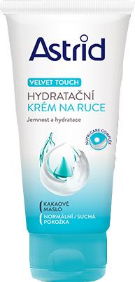 Astrid Hydratační krém na ruce pro normální až suchou pokožku Velvet Touch 100 ml