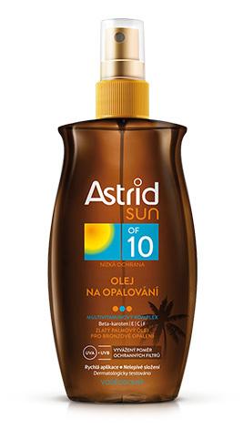 Astrid Olej na opalování OF 10 Sun 200 ml