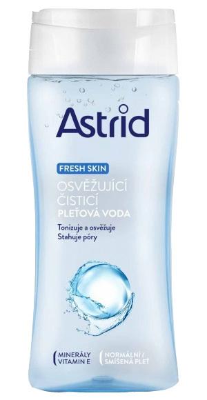 Astrid Osvěžující čisticí pleťová voda pro normální a smíšenou pleť Fresh Skin 200 ml