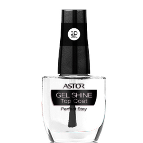 Astor Vrchní lak na nehty 3D Gel Shine Top Coat Perfect Stay 12 ml