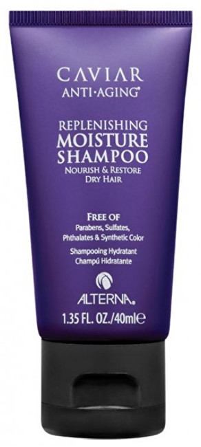 Alterna Bezsulfátový šampon Caviar Anti-Aging (Replenishing Moisture Shampoo) 40 ml