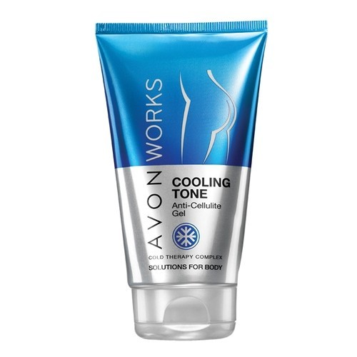 Avon Chladivý gel proti celulitidě s komplexem Cold Therapy Avon Works (Cooling Tone Anti-Cellulite Gel) 150 ml