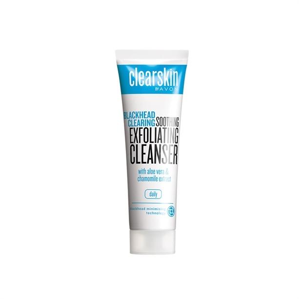 Avon Čisticí peelingový gel Clearskin (Blackhead Clearing) 125 ml