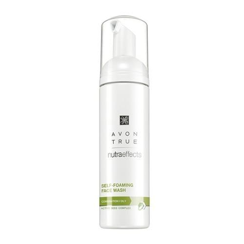 Avon Čistiaca pena pre zmiešanú až mastnú pleť Avon True (Self-Foaming Face Wash) 150 ml
