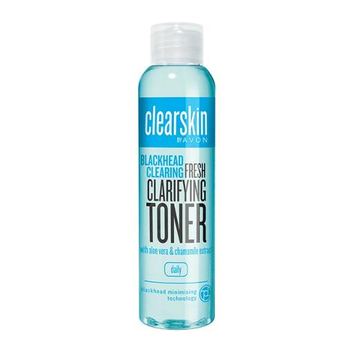 Avon Čistiaca pleťová voda proti akné s výťažkami z aloe a harmančeka Clearskin ( Fresh Clarifying Toner) 100 ml